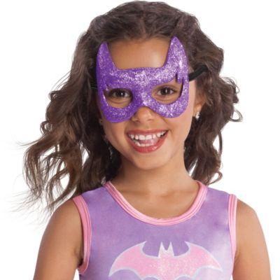 Child Glitter Batgirl Mask - Batman
