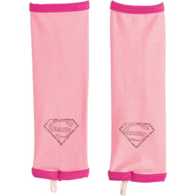 Child Supergirl Arm Warmers - Superman