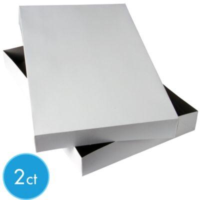 White Robe Gift Boxes 2ct
