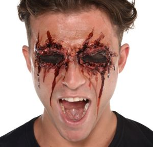 See No Evil Bloody Face Prosthetic