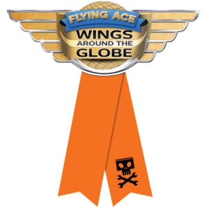 Orange Planes Award Ribbon