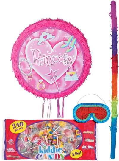 Pull String Princess Pinata Kit