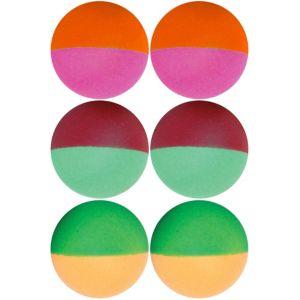 Colorful Pong Balls 6ct