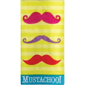 Moustachoo Facial Tissues 10ct