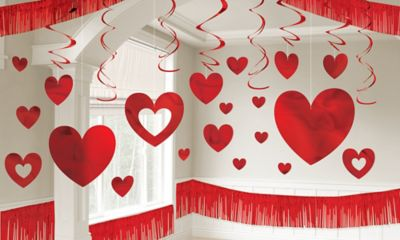 Valentine's Day Room Decorating Kit 28pc