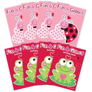 Valentine's Day Activity Pads 8ct