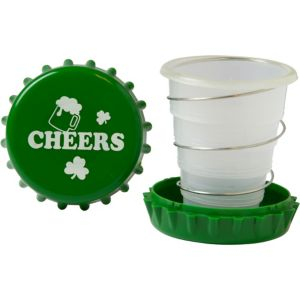 Shamrock Collapsible Cup