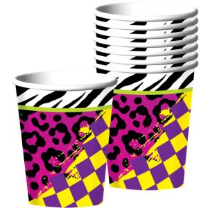 Totally 80s Cups 8ct