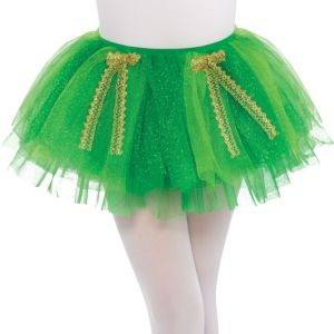 Child Green Shimmer St. Patrick's Day Tutu