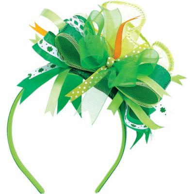 St. Patrick's Day Ribbon Headband
