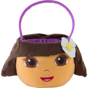 Plush Dora the Explorer Easter Basket