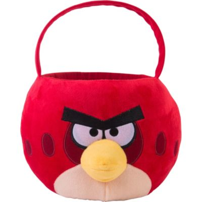 Plush Angry Birds Easter Basket 7in