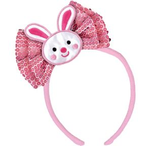 Easter Bunny Bow Headband