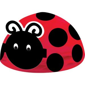 Fancy Ladybug Honeycomb Centerpiece