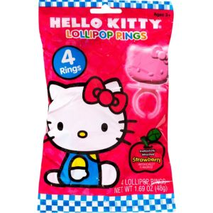 Hello Kitty Candy Rings 4ct