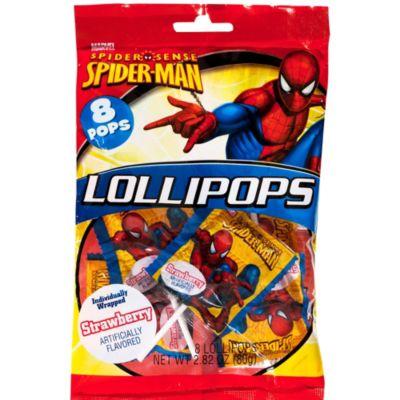 Spider-Man Lollipops 8ct