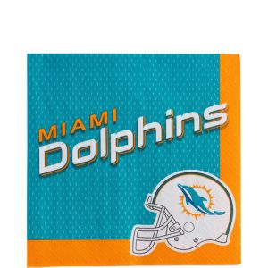 Miami Dolphins Lunch Napkins 36ct