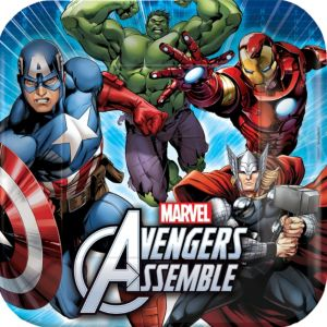 Avengers Lunch Plates 8ct
