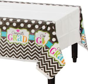 Dream Big Graduation Plastic Table Covers 3ct Party City