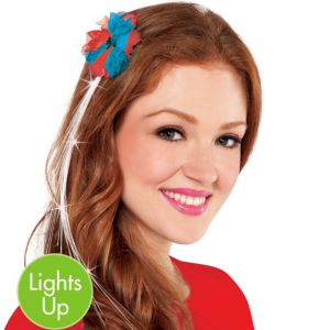 Light-Up Patriotic Hair Extension