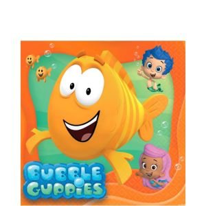 Bubble Guppies Lunch Napkins 16ct
