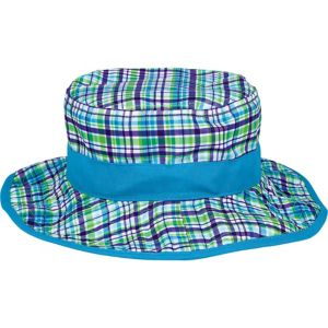 Child Blue Plaid Bucket Hat