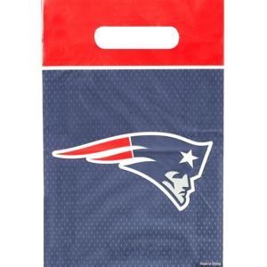 New England Patriots Favor Bags 8ct