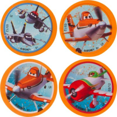 Planes Erasers 4ct