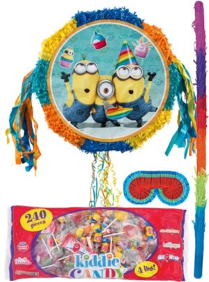 Pull String Minions Pinata Kit - Despicable Me 2