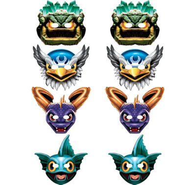 Skylanders Masks 8ct