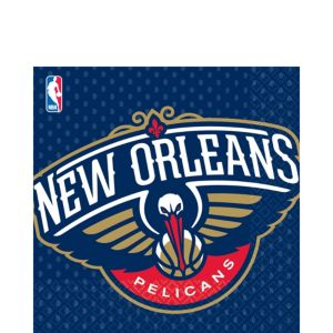 New Orleans Pelicans Lunch Napkins 16ct
