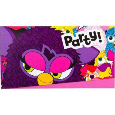 Furby Invitations 6ct