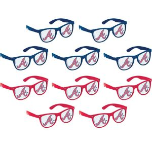 Atlanta Braves Printed Glasses 10ct