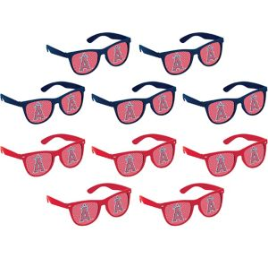 Los Angeles Angels Printed Glasses 10ct