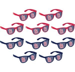 St. Louis Cardinals Printed Glasses 10ct
