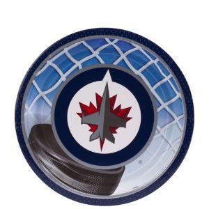 Winnipeg Jets Dessert Plates 8ct