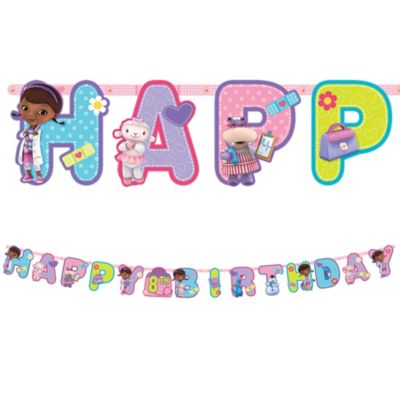Doc McStuffins Birthday Banner 10ft