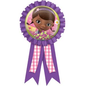 Doc McStuffins Award Ribbon 5in
