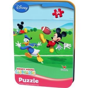 Mickey Mouse Puzzle Tin 24pc