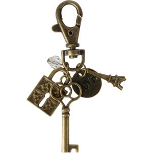 Vintage Mini Charms Key Chain