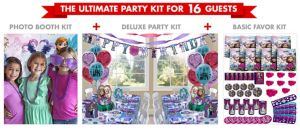 Frozen Ultimate Party Kit for 16 Guests