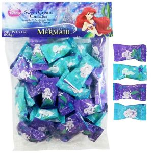 Little Mermaid Cream Candies 56ct