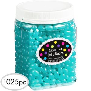 Robin's Egg Blue Jelly Beans 1025pc