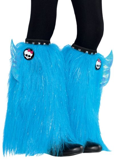Child Furry Monster High Leg Warmers