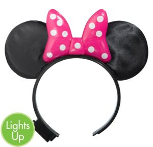 Minnie Mouse Light-Up Bow Headband
