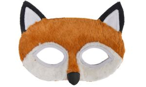 Child Plush Fox Mask