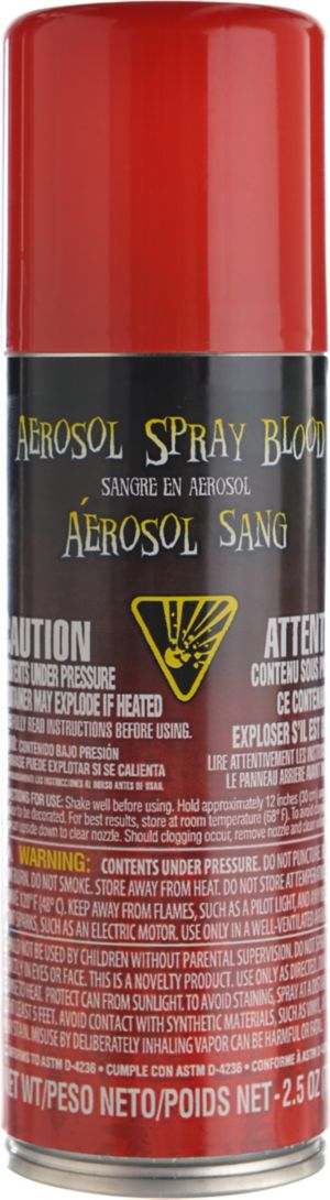 Fake Blood Aerosol