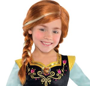Child Anna Wig - Frozen