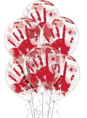 Blood Splatter Balloons 6ct