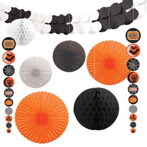 Modern Halloween Decorating Kit 9pc